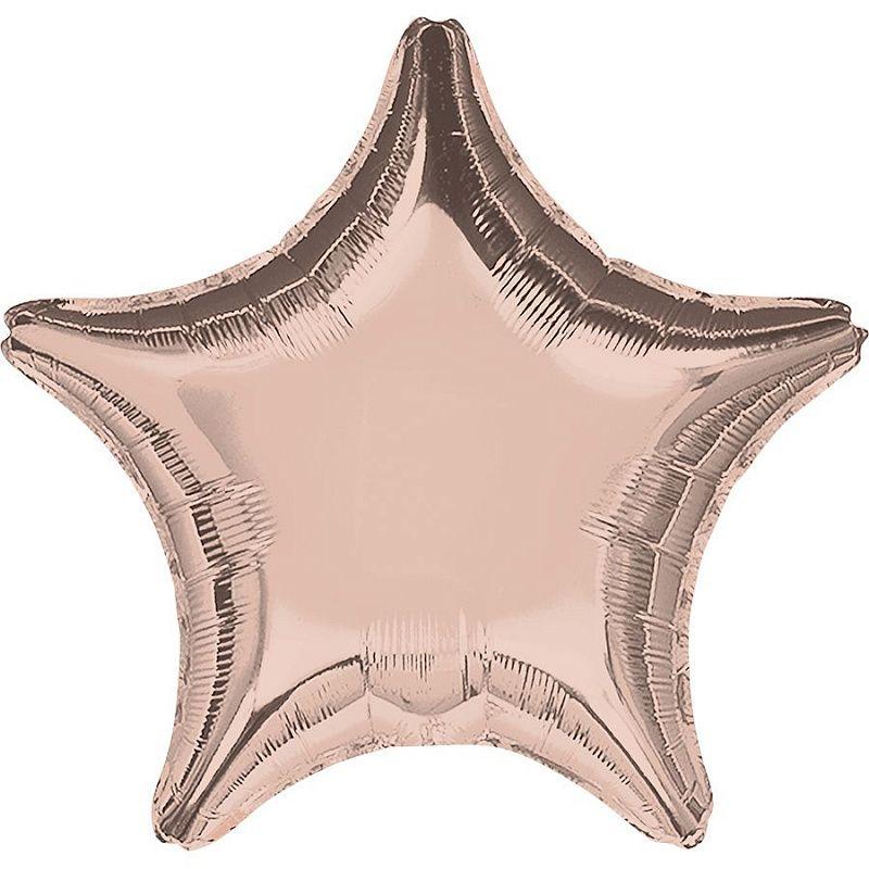 Звезда Роза Голд 46 см