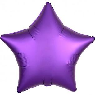 Звезда Фиолетовый Сатин 46 см