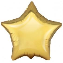 Шар Звезда Античное золото 46 см
