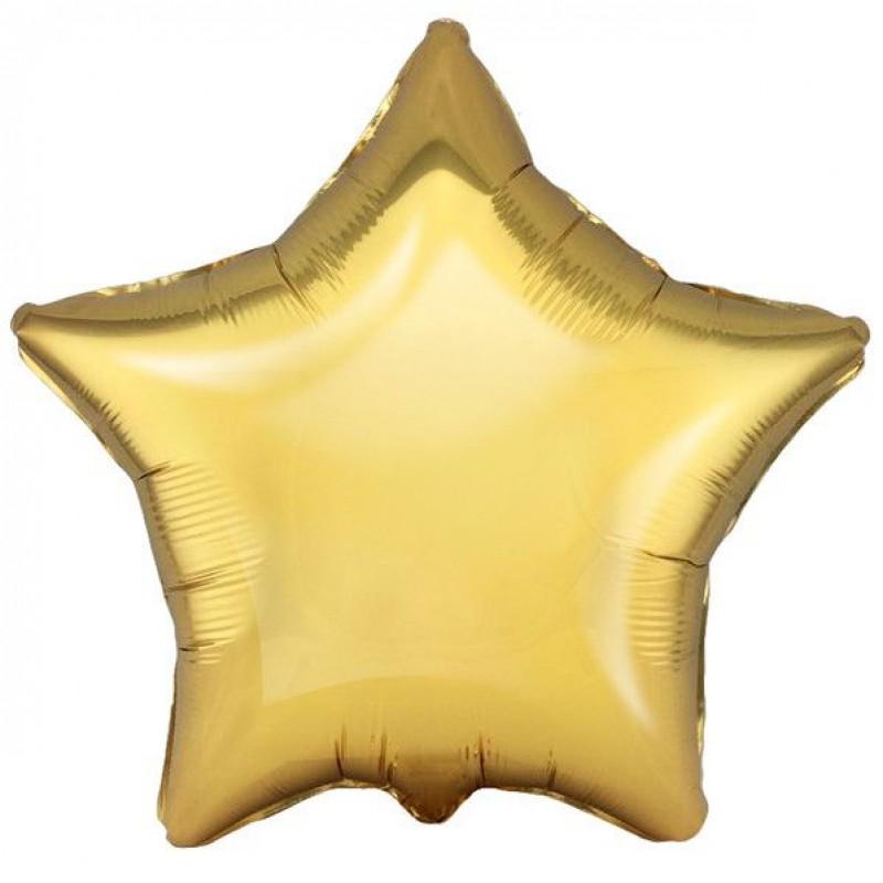 Звезда Античное золото 46 см